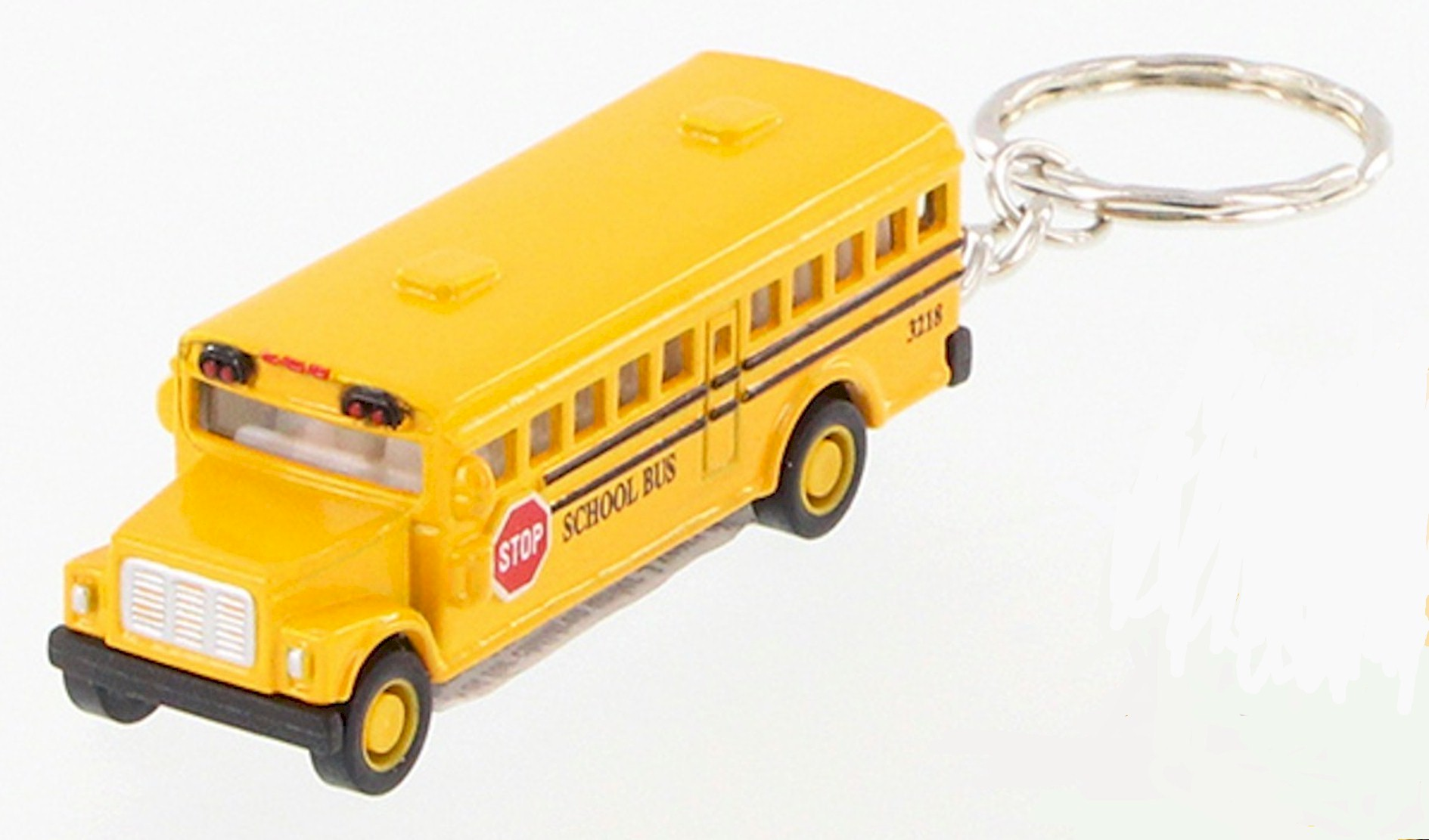 Personalizable Bus Key Ring