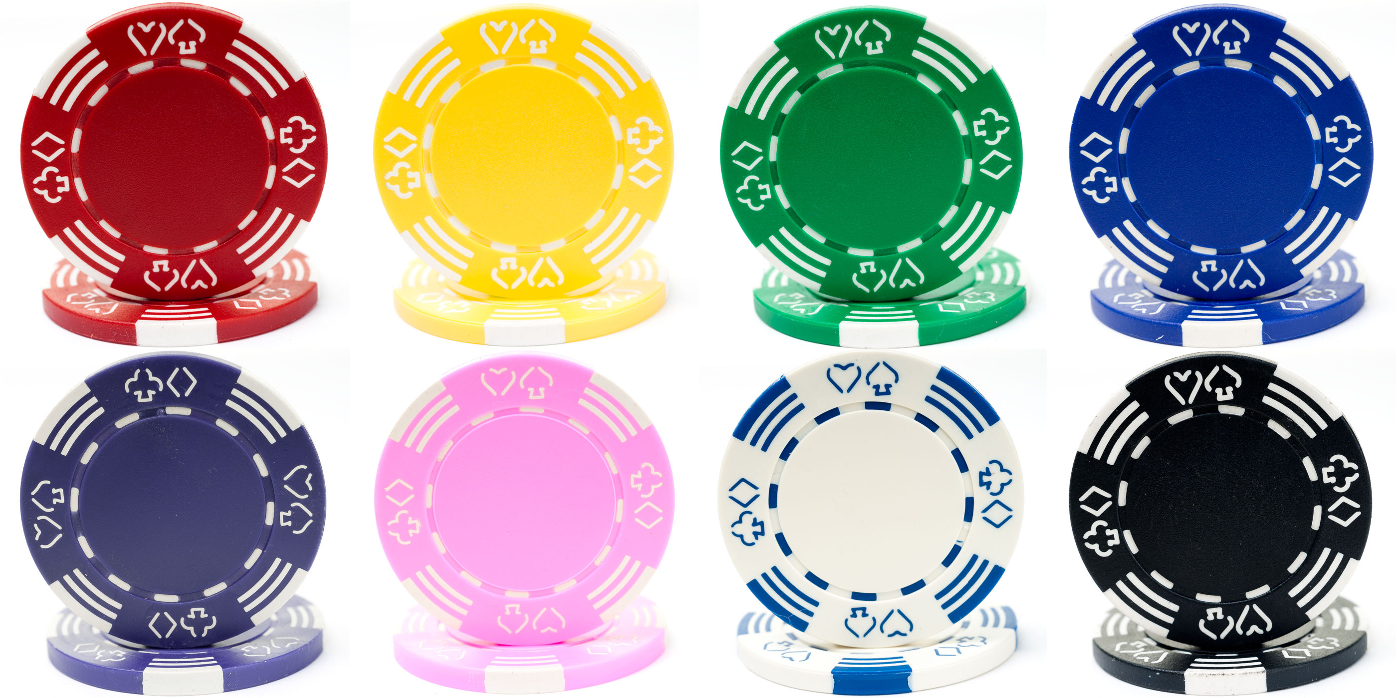Personalized Royal Clay Poker Chips