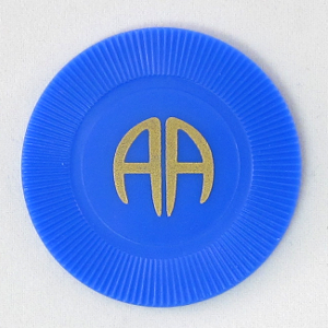 Red Plastic AA Chip