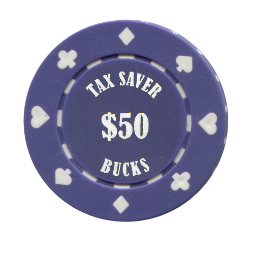 Custom Suited Clay Poker Chip